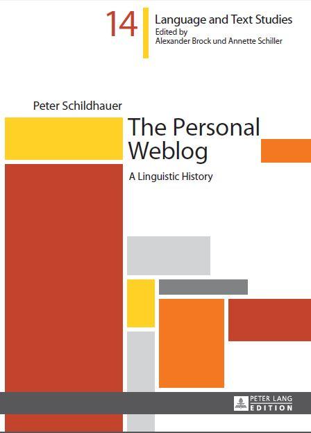 Peter Lang Personal Weblog Cover